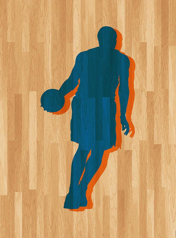 Anthony Photograph - Carmelo Anthony New York Knicks by Joe Hamilton