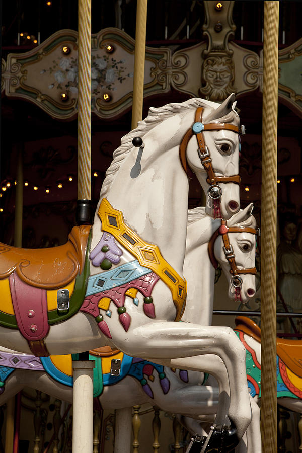 Carousel Photograph - Carousel 1 by Art Ferrier
