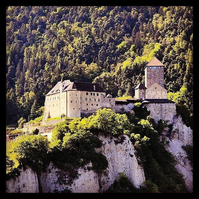 Merano Photograph - #castel #tirolo by Luisa Azzolini