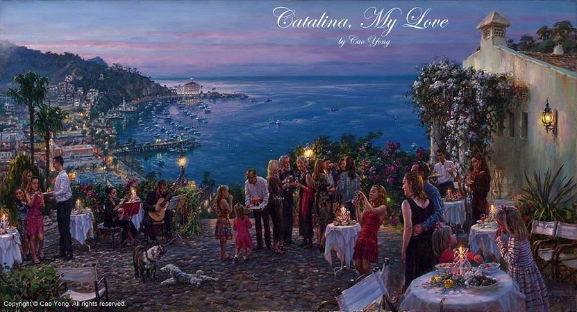 Catalina My Love Painting by Cao Yong