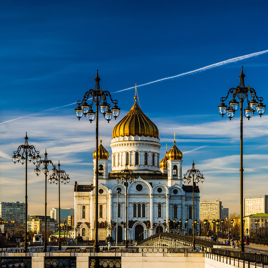 Cathedral Of Christ The Savior Of Moscow - Russia Photograph