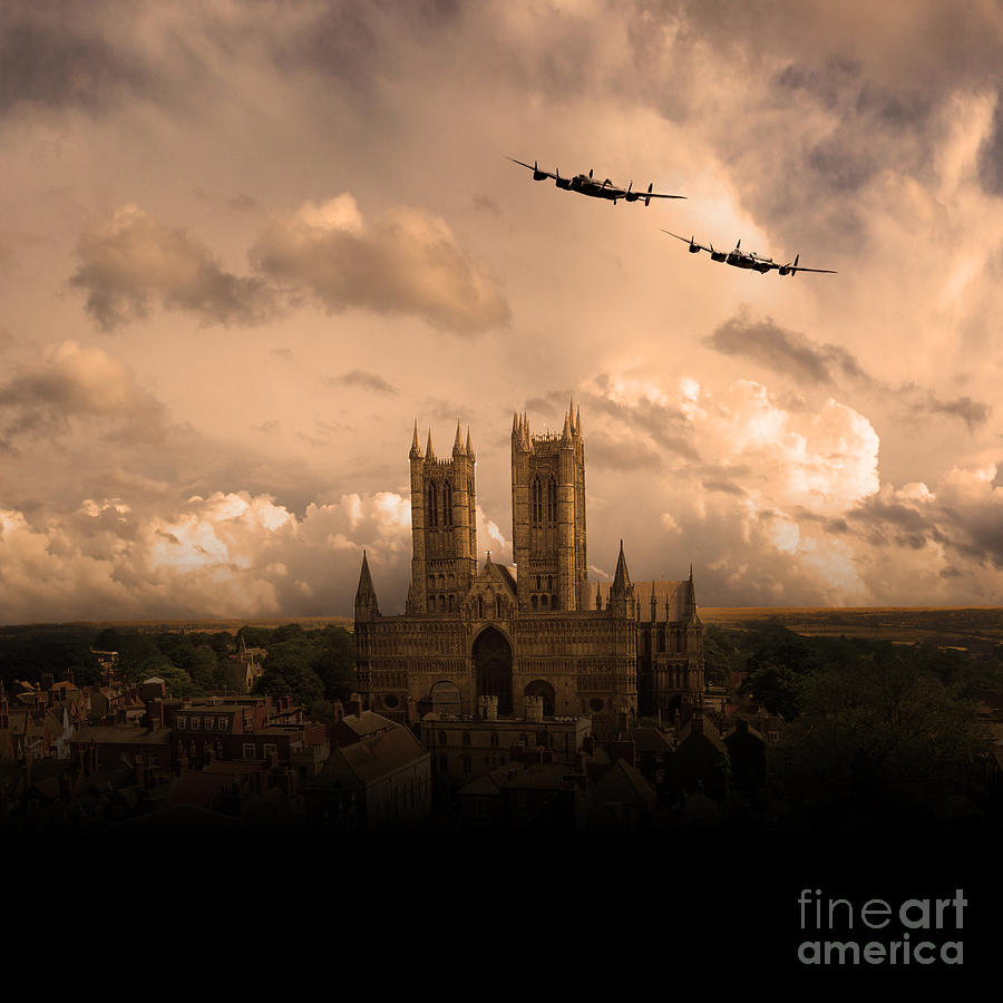 Avro Digital Art - Cathedral Pass  by Airpower Art