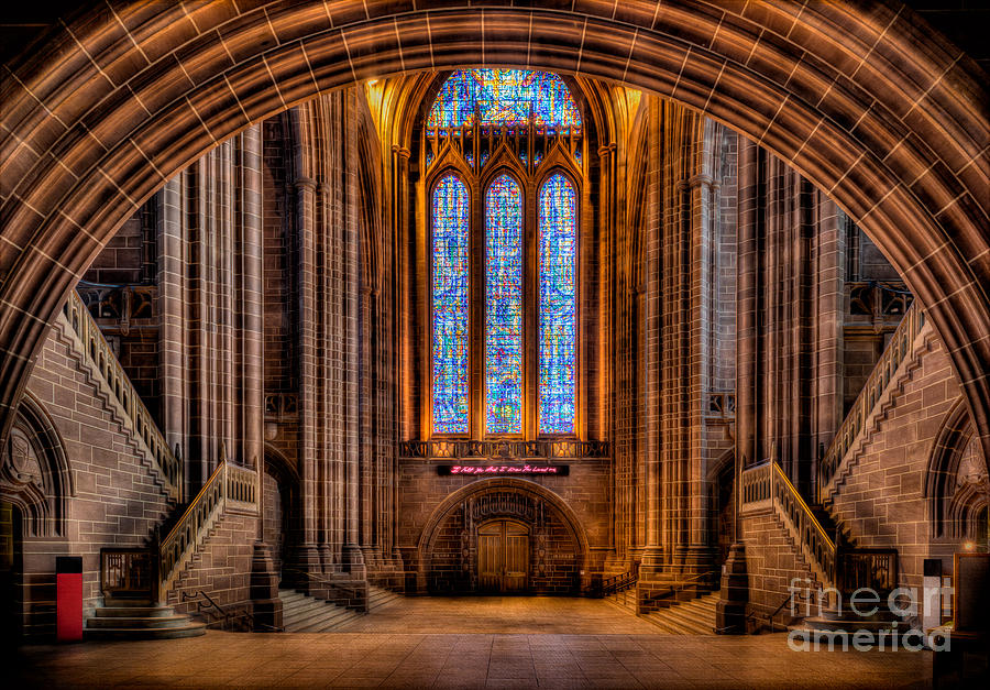 British Photograph - Cathedral Window by Adrian Evans
