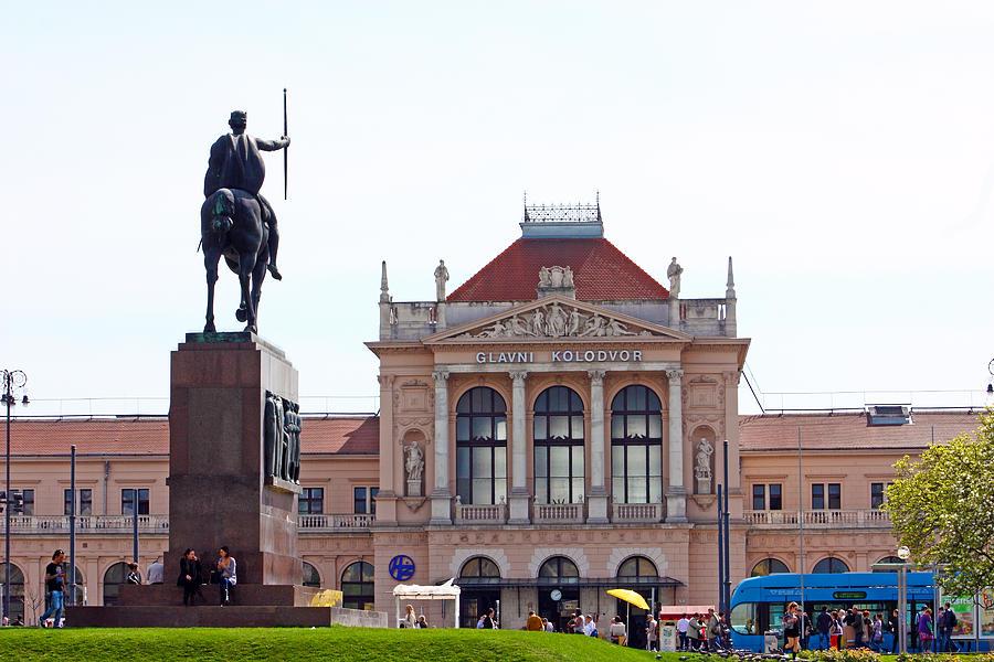 Croatia Photograph - Central Railway Station Zagreb by Borislav Marinic