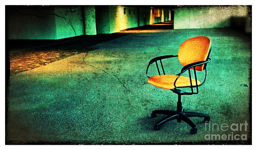 Chair Photograph - Chair2 by Perry Webster