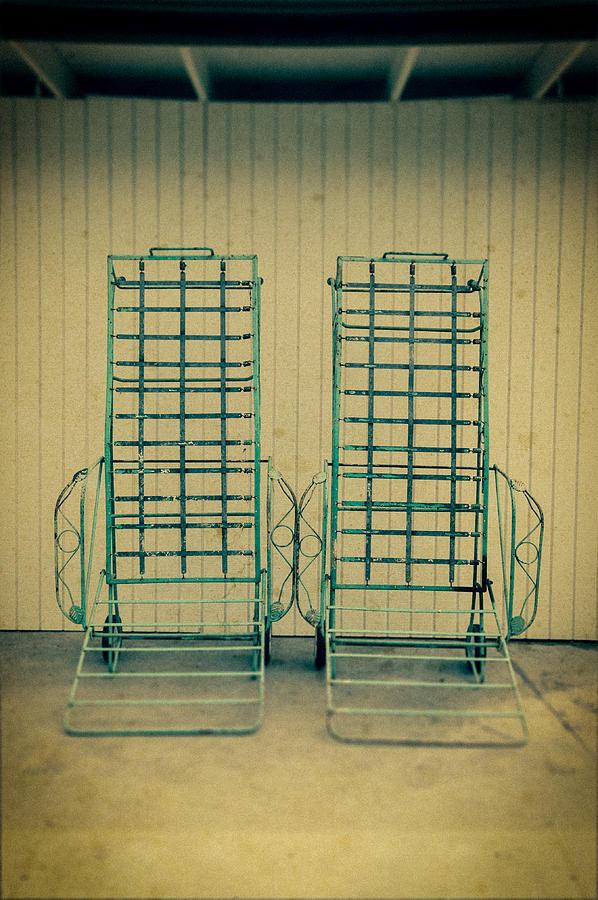 Personal Work Photograph - Chaise Lounge by Yo Pedro