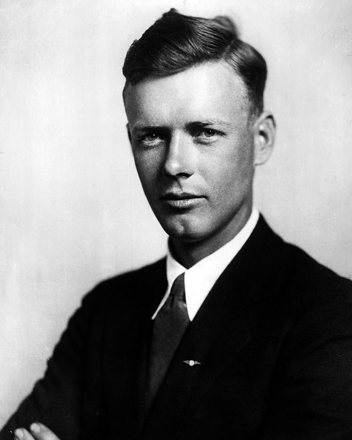 Classic Photograph - Charles Lindbergh by Retro Images Archive
