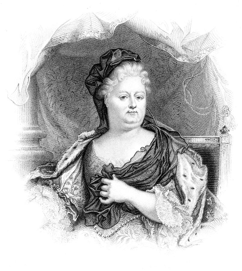 Orleans Drawing - Charlotte-elisabeth Duchess Of Orleans by Mary Evans Picture Library