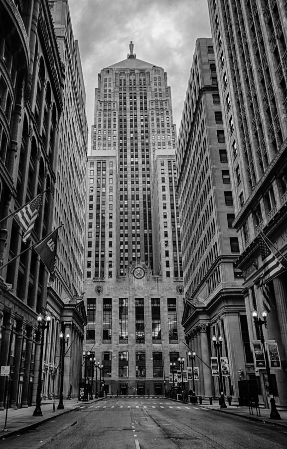 Chicago Photograph - Chicago Board Of Trade by Mike Burgquist