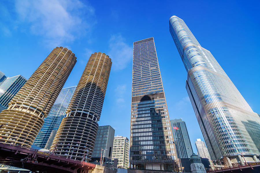Chicago Skyscrapers Photograph