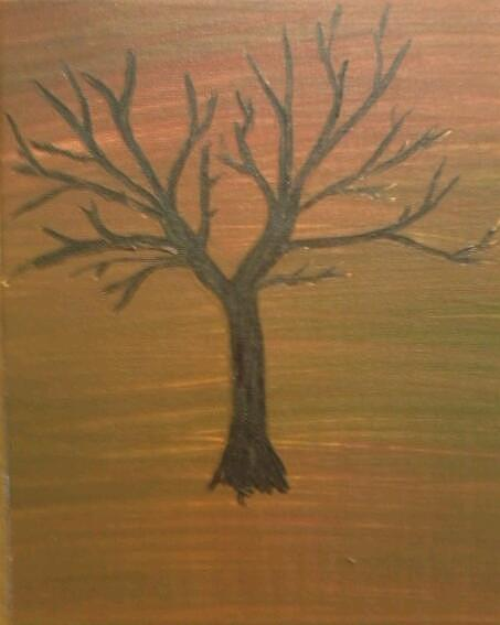 Trees Painting - Childrens Tree by April  Weller