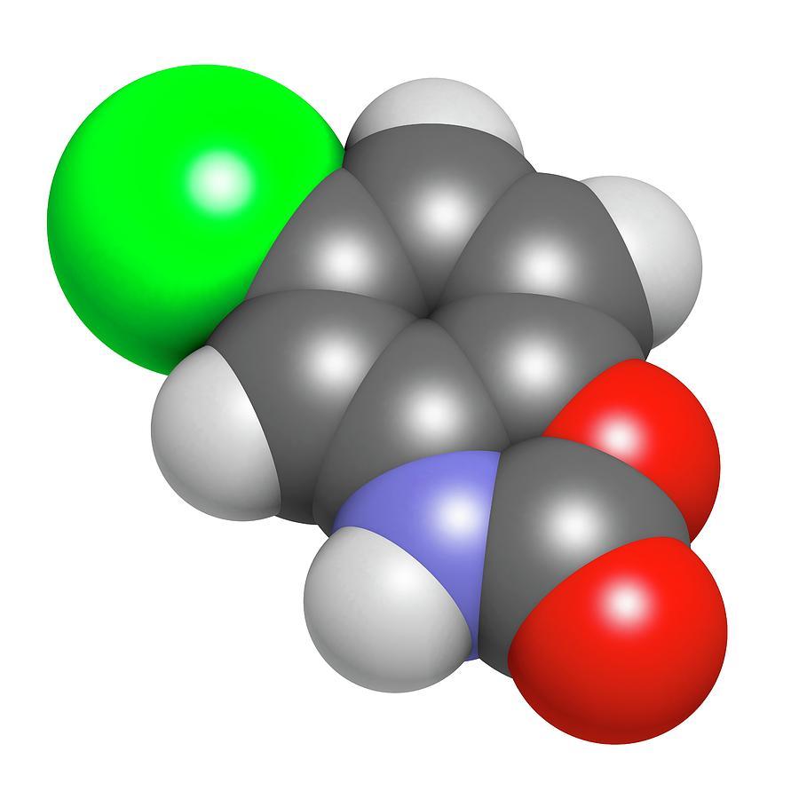 Muscle Photograph - Chlorzoxazone Muscle Relaxant Drug by Molekuul