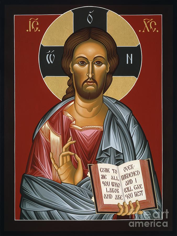 Christ All Merciful 022 Painting by William Hart McNichols