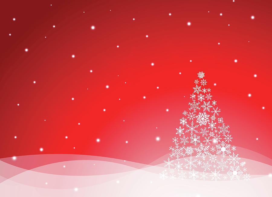 Christmas Background Digital Art by Traffic analyzer