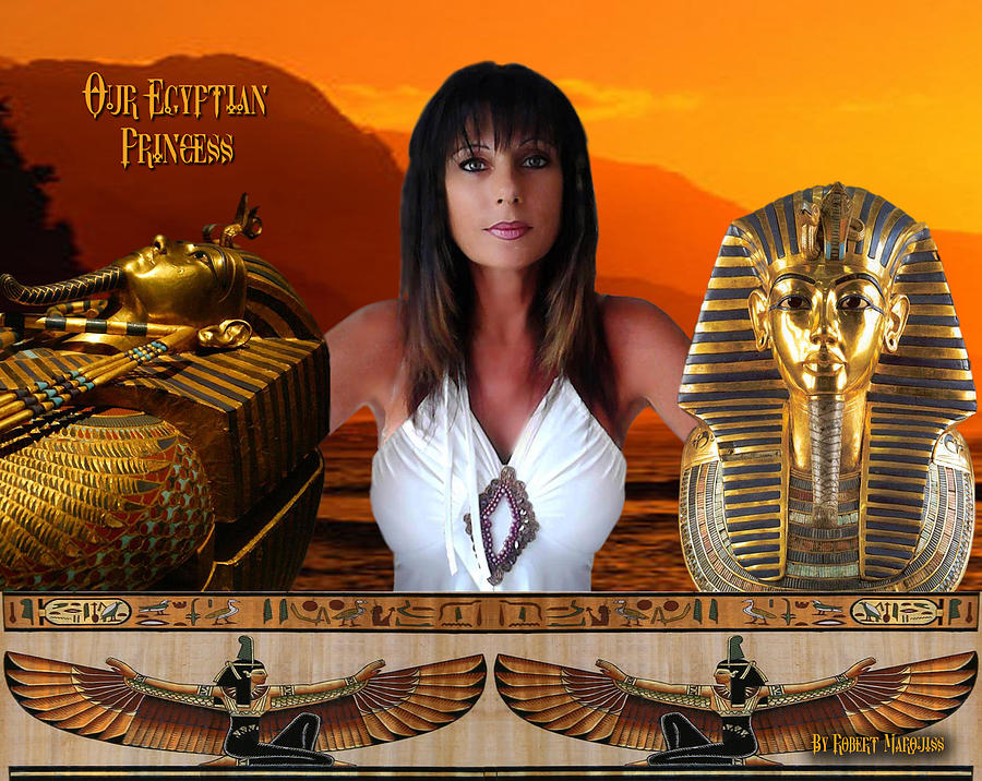 Egyptian Digital Art - Christmas Gift by Robert Marquiss