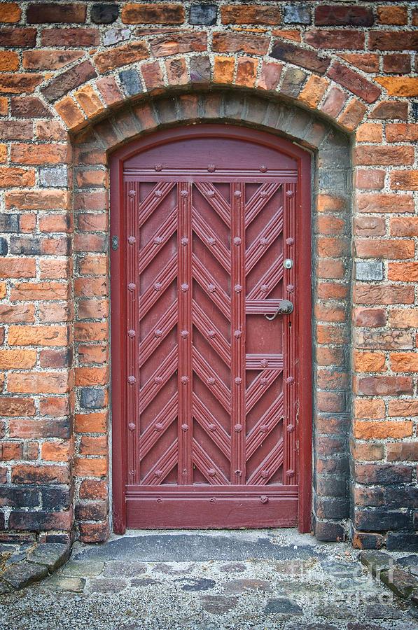 Entrance Photograph - Church Door 02 by Antony McAulay