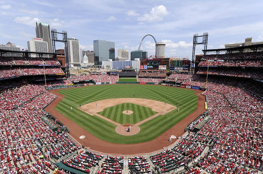 Cincinnati Reds V. St. Louis Cardinals 1 Photograph by Ron Vesely