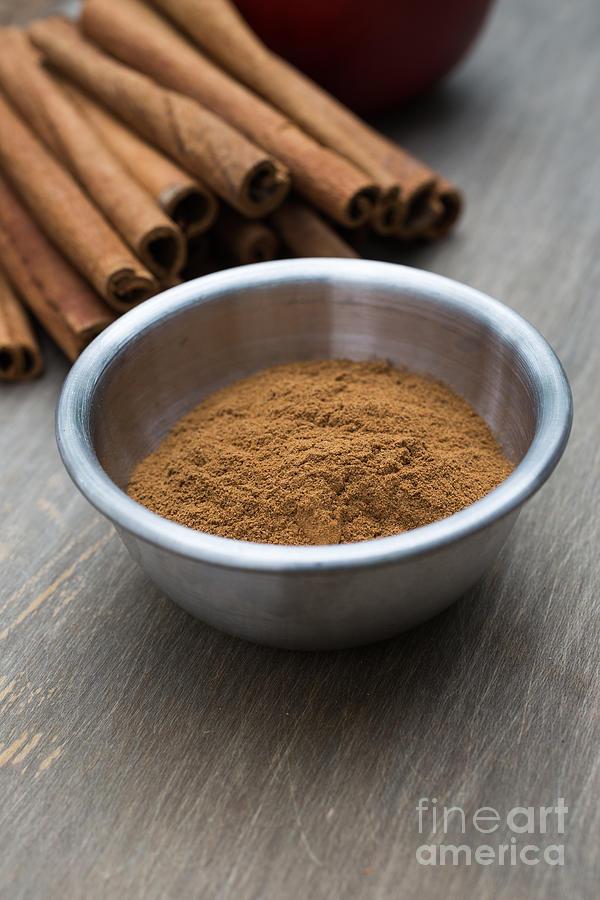 Food Photograph - Cinnamon Spice by Edward Fielding