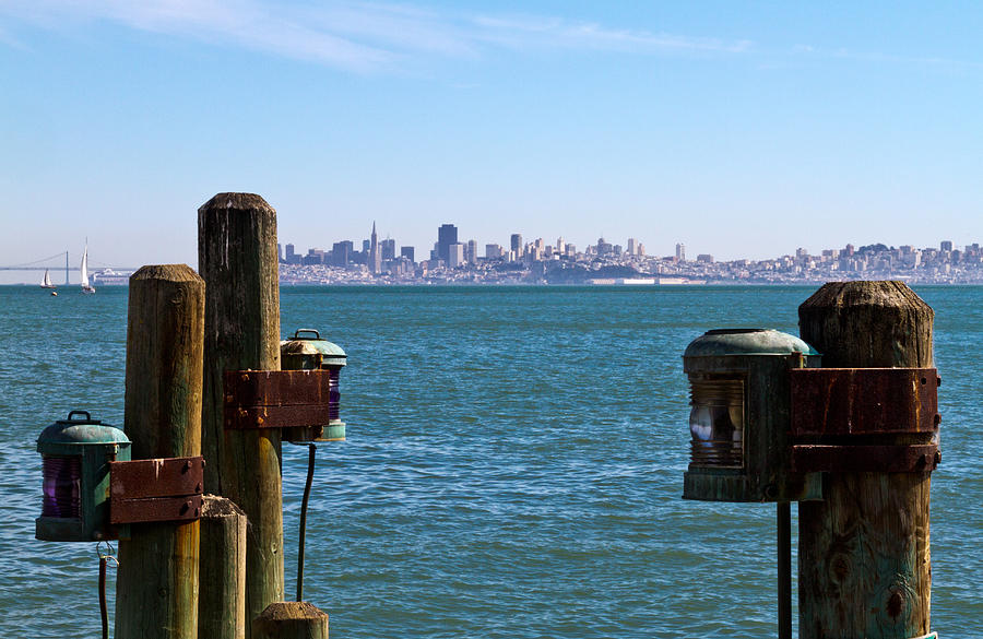 City By The Bay Photograph by Bernard  Barcos
