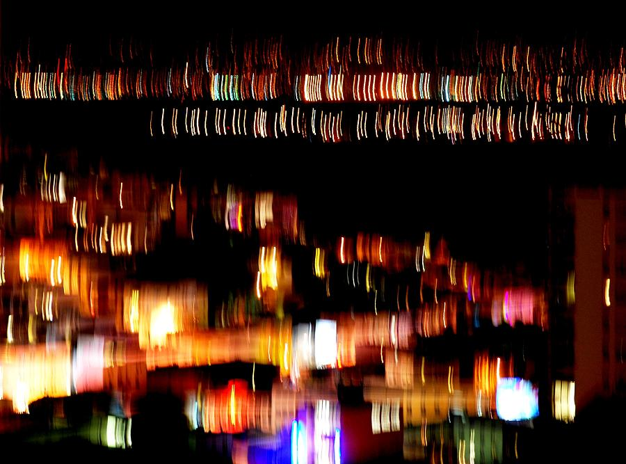 City Lights Photograph - City Lights by Mamie Gunning