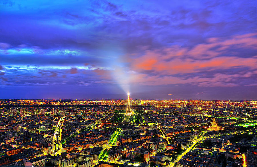 Paris Photograph - City Of Lights by Midori Chan