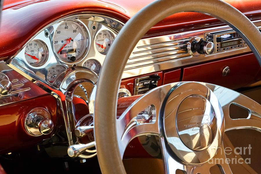 Classic Car Interior Photograph By Mariusz Blach