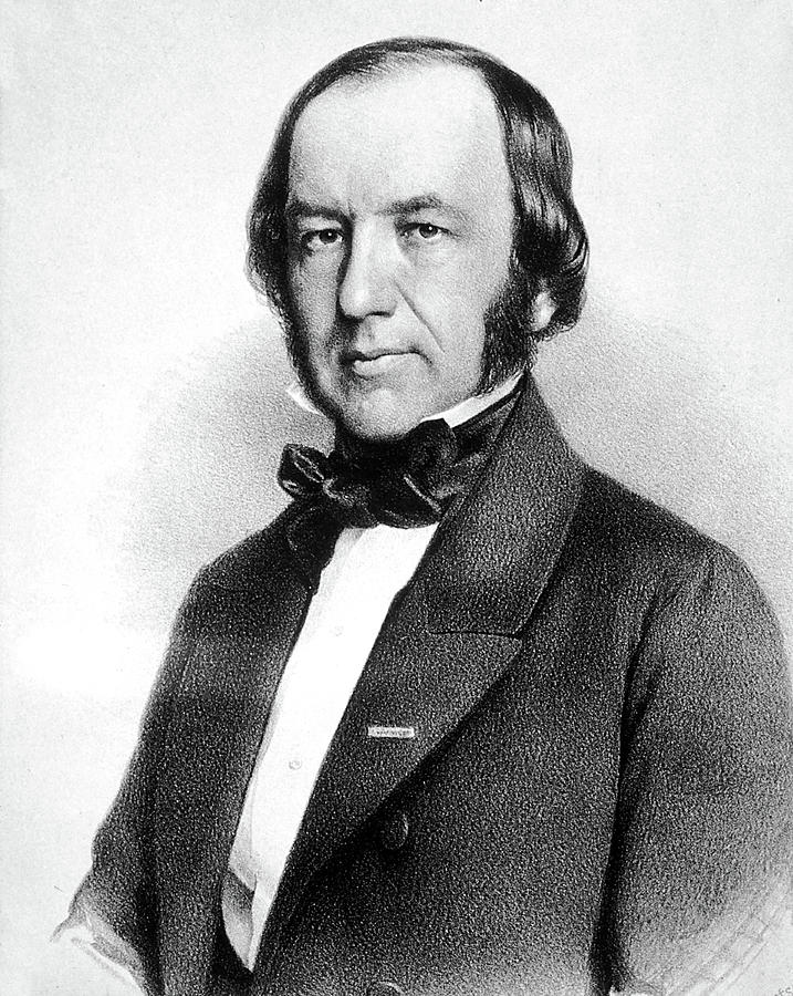 1813 Photograph - Claude Bernard, French Physiologist by Science Source