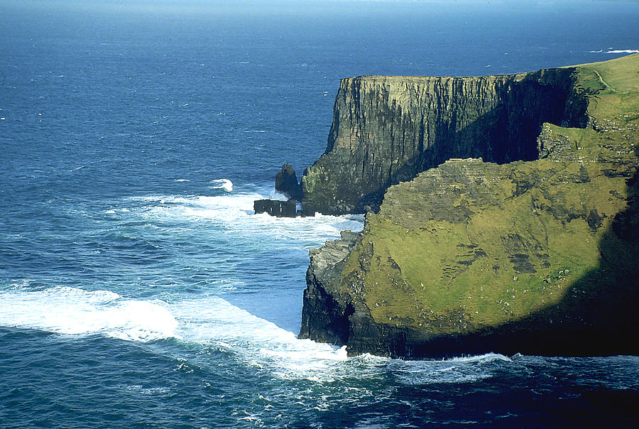 Cliffs Of Moher In Ireland Photograph