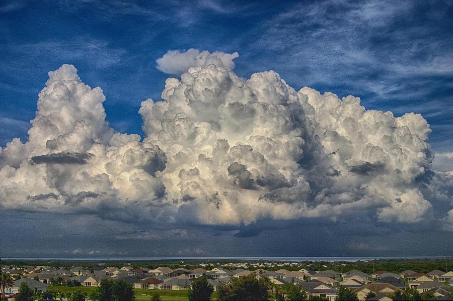 Clouds Over Florida Photograph