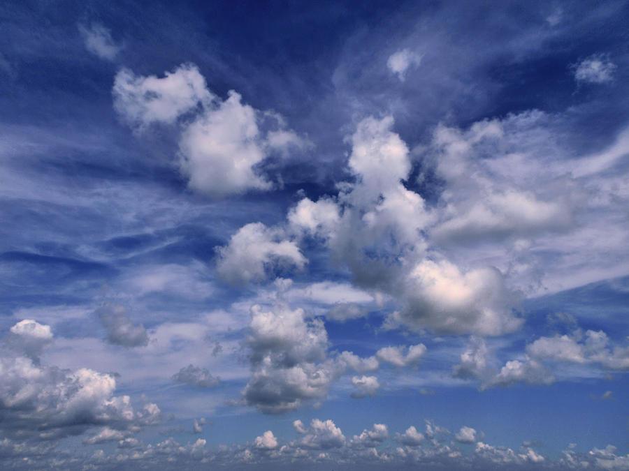 Clouds Photograph - Cloudscape 4 by Tom Druin