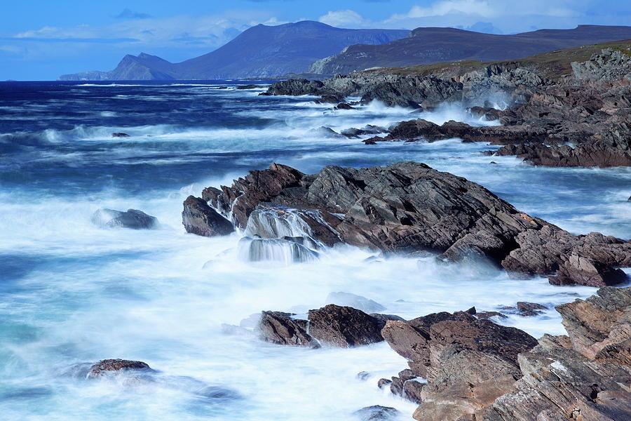 Coastline On Atlantic Drive, Achill Photograph by Richard Cummins / Robertharding