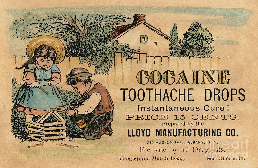 Cocaine Medicine Ad 1885 Photograph By Granger