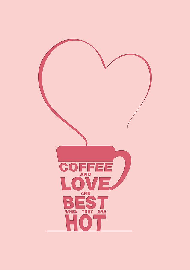 Coffee Love Quotes Adorable Coffee Love Quote Typographic Print Art Quotes Poster Digital Art