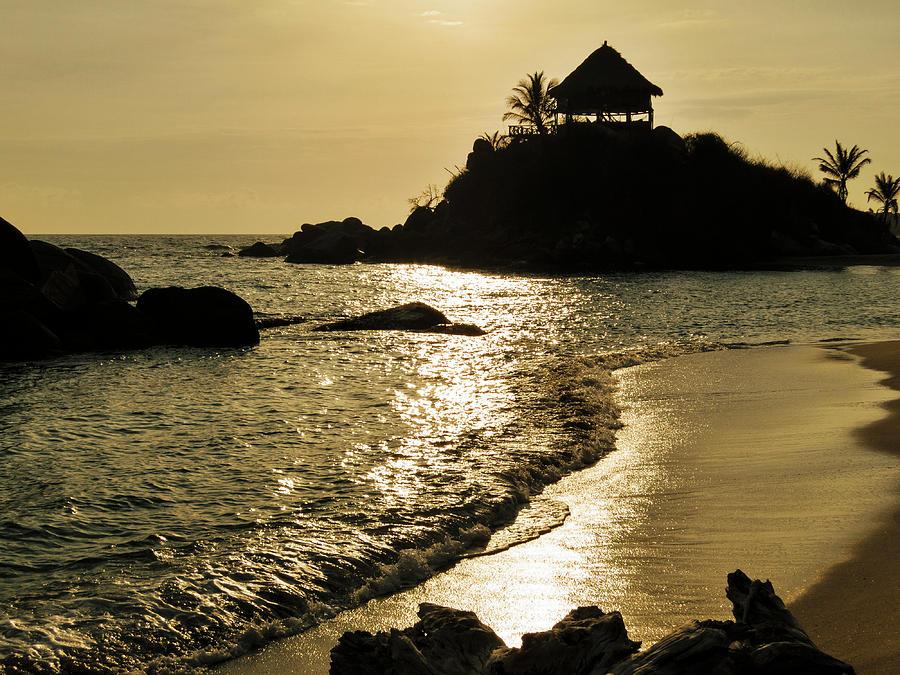Beach Photograph - Colombia, Tayrona National Park, Cabo by Matt Freedman