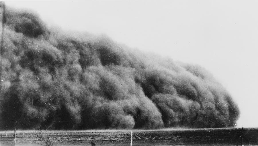 1935 Photograph - Colorado Dust Storm, 1935 by Granger