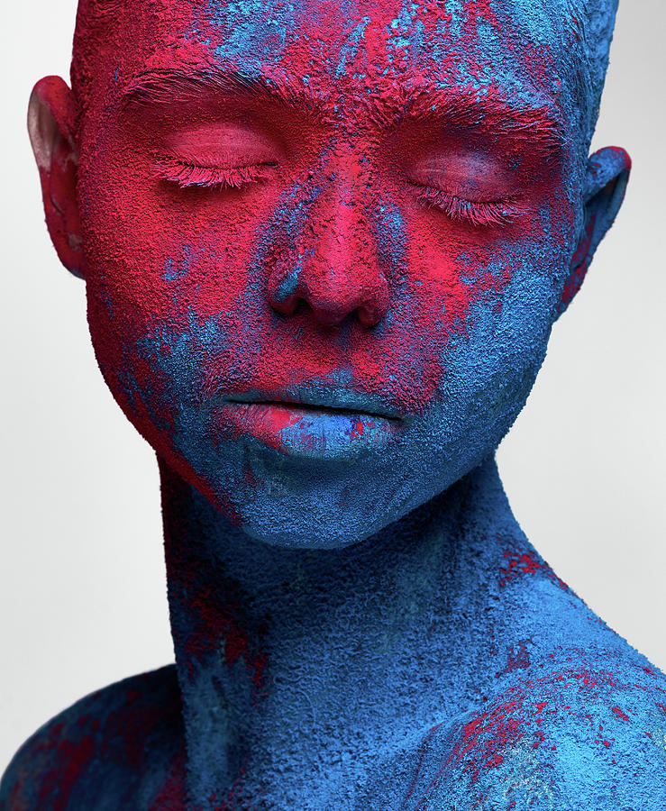 Portrait Photograph - Colored Ecstasy by Alex Malikov