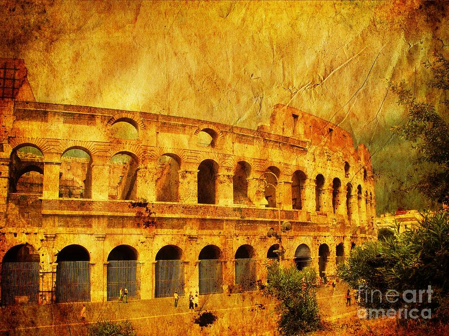 Atmosphere Photograph - Colosseum by Stefano Senise