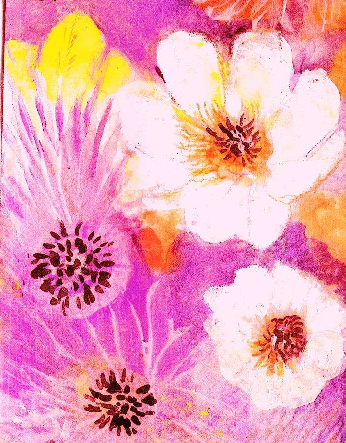 Spring Painting - Come Spring by Anne-Elizabeth Whiteway