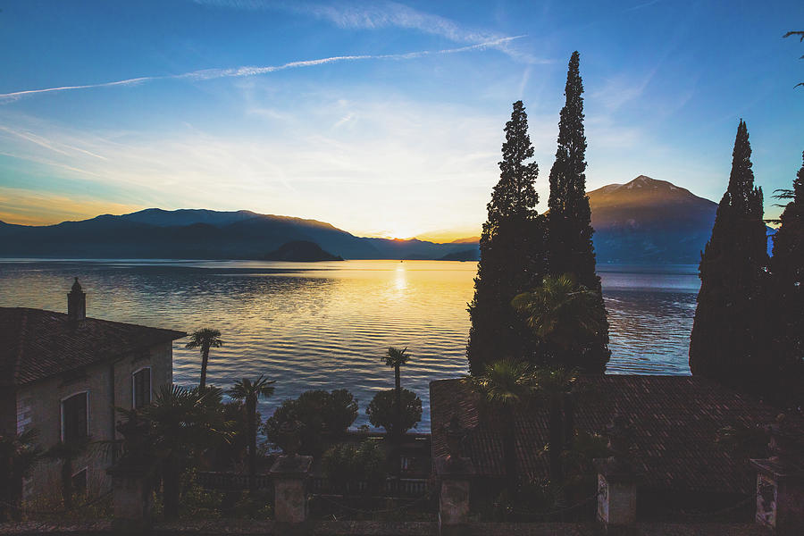 Como District Lake, Varenna Photograph by Deimagine