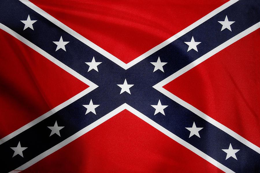 Confederate Flag 5 Photograph
