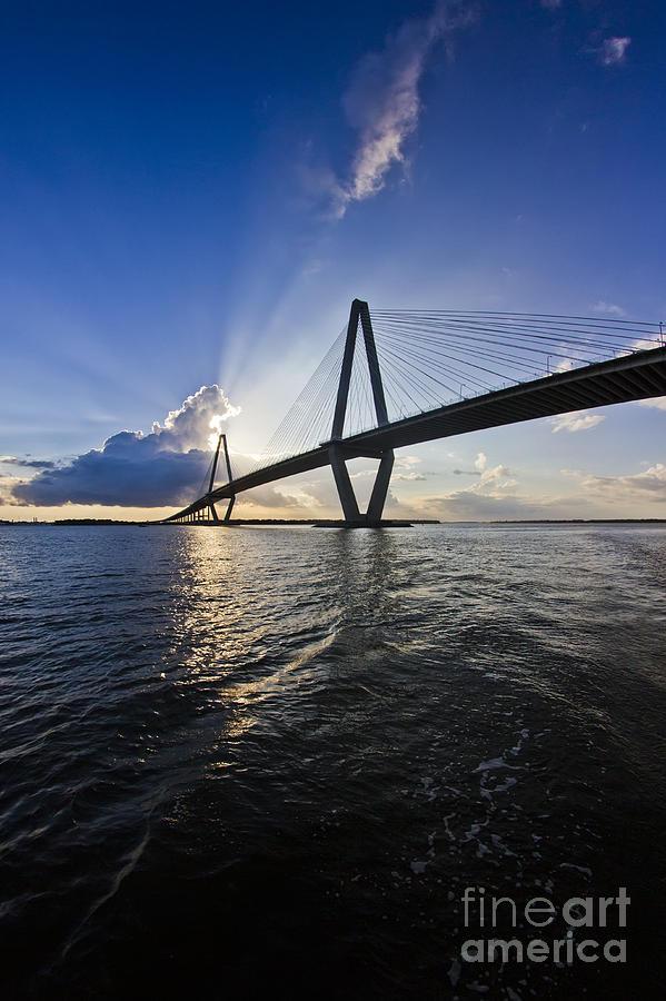Cooper River Bridge Photograph - Cooper River Bridge Charleston Sc by Dustin K Ryan