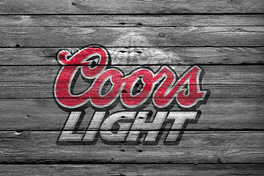 Coors Light Photograph - Coors Light by Joe Hamilton