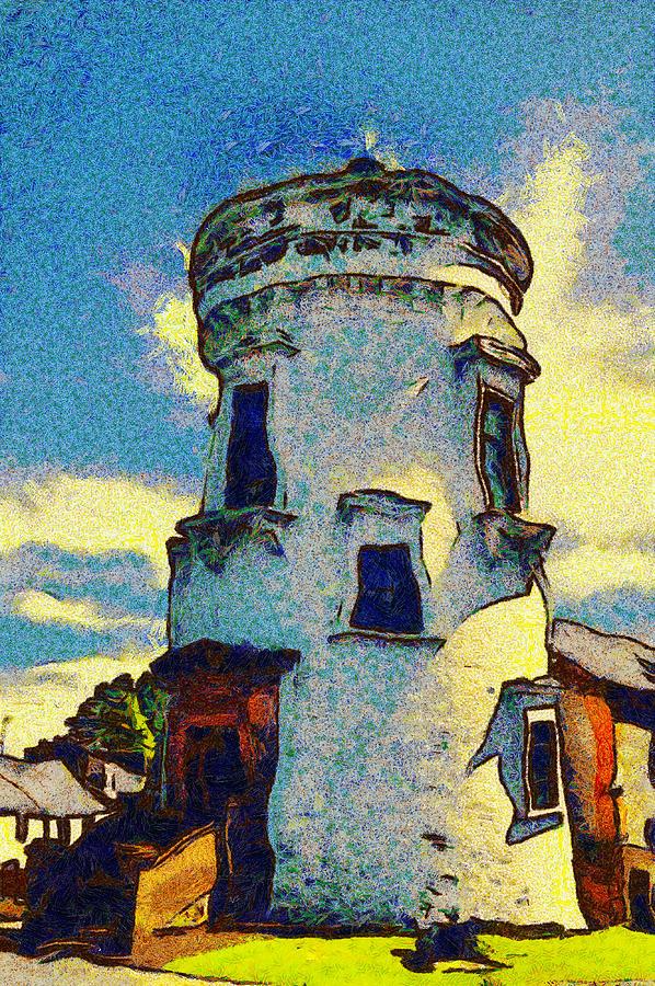 Jersey Digital Art - Corbiere Lighthouse by Unknown