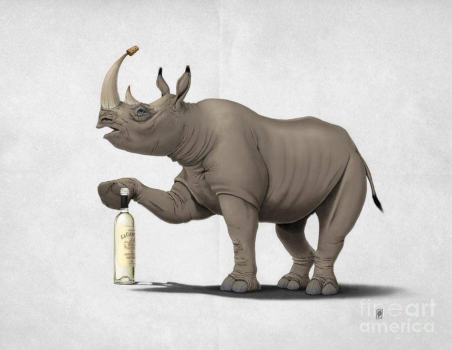 Illustration Mixed Media - Cork It Durer by Rob Snow