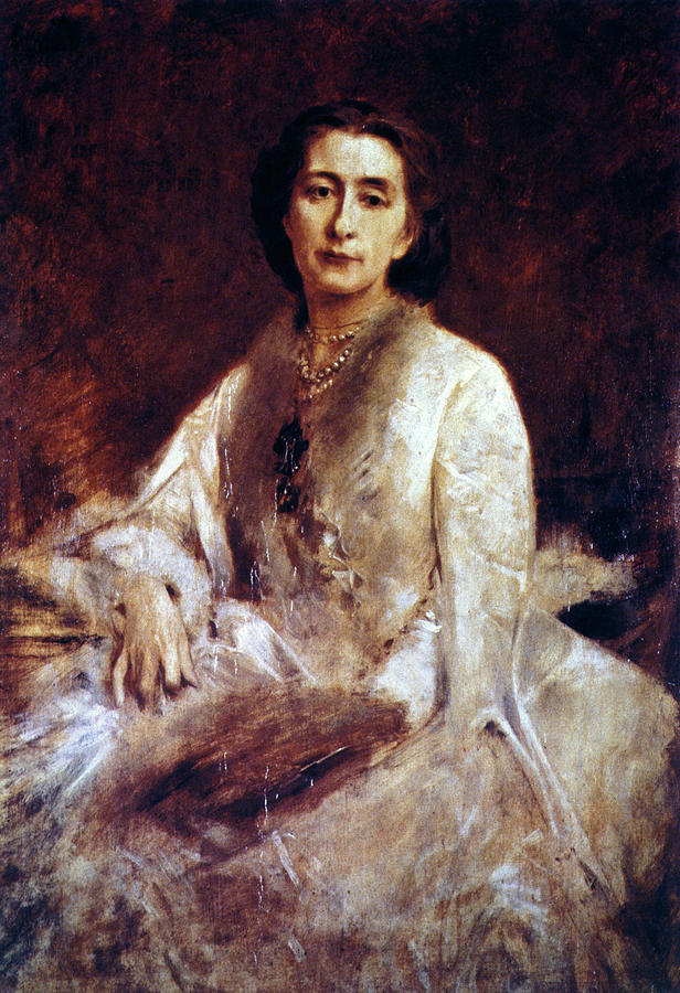 1879 Painting - Cosima Wagner (1837-1930) by Granger