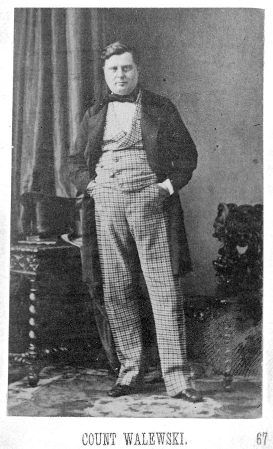 1860 Photograph - Count Walewski (1810-1868) by Granger