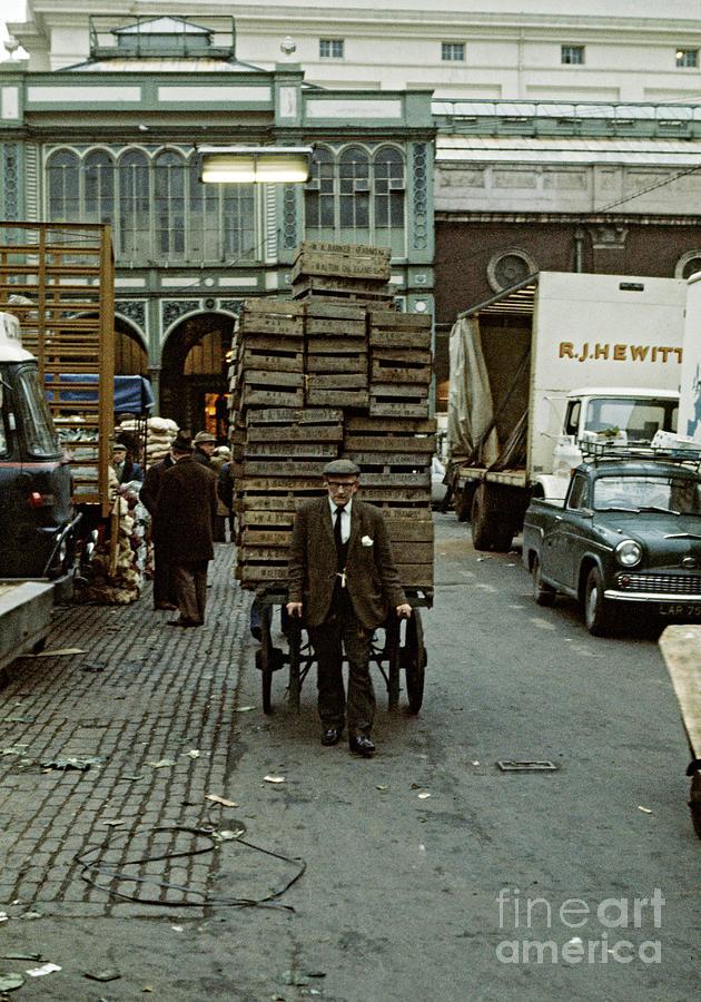 Covent Garden Photograph - Covent Garden Market 1973 by David Davies