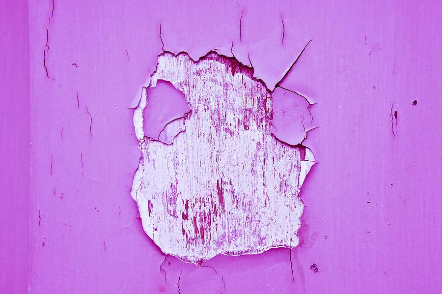 Cracking Paint Photograph
