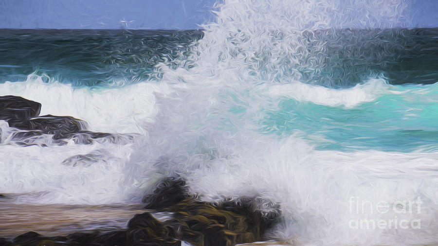Surf Photograph - Crash by Sheila Smart Fine Art Photography