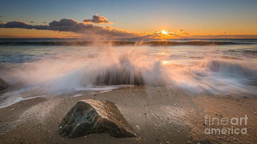 Mv Photograph - Crashing Waves by Michael Ver Sprill